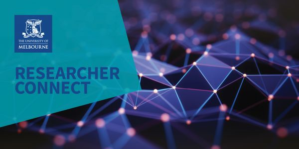 Web banner for researcher connect